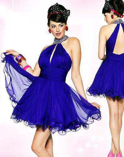 2012 Prom Dresses BabyDoll by MacDuggal Short Dress 6072BN: French ...