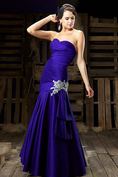 Macduggal Couture Drop Waist Evening Dress With Jacket