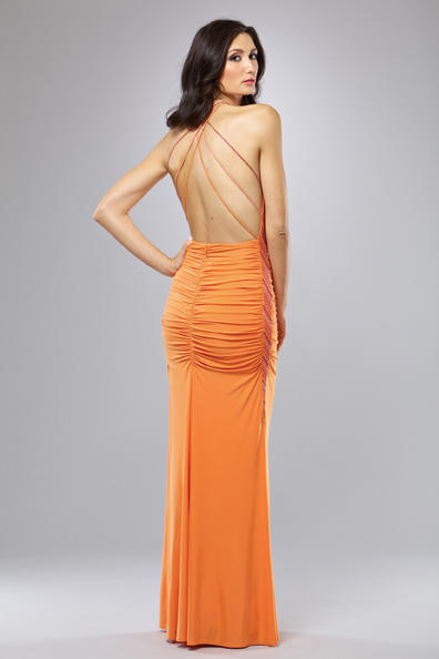 Strappy Back Evening Gowns