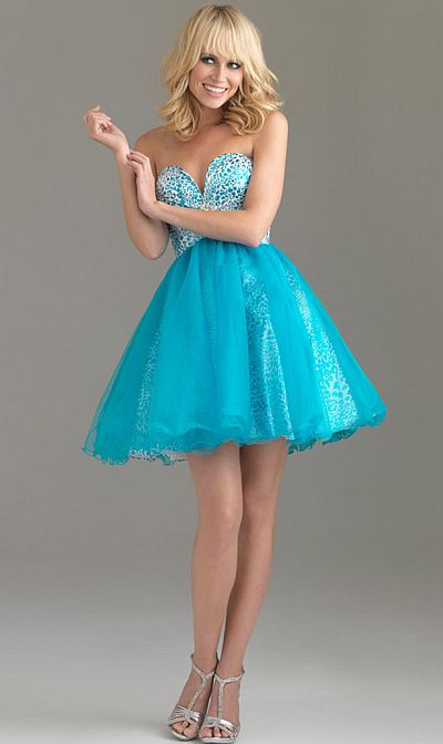 Night Moves Fun And Flirty Short Prom Dress 6494 French Novelty