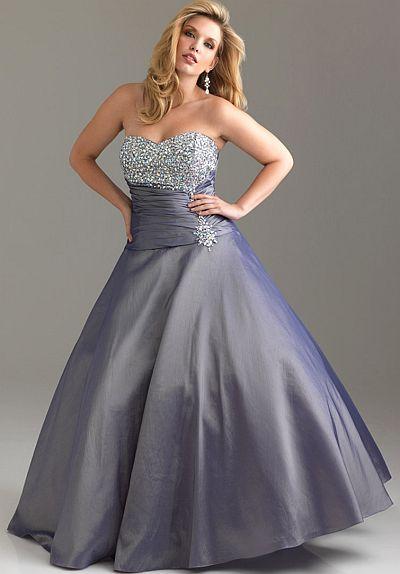 7d00ac2b9b5e Night Moves Plus Sized Rich Taffeta Prom Dress 6524W: French Novelty