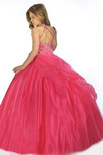Perfect Angels Girls Pageant Dress Ball Gown 1403 by Party Time ...