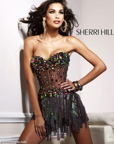 Unique Prom Dresses 2012 Sherri Hill Short Prom Dress 2900: French ...