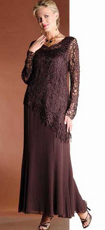 Soulmates Silk Evening Dress C805809 French Novelty