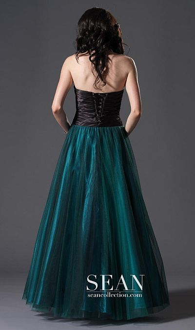 Sean Express Corset Back Ball Gown Prom Dress 90057: French Novelty