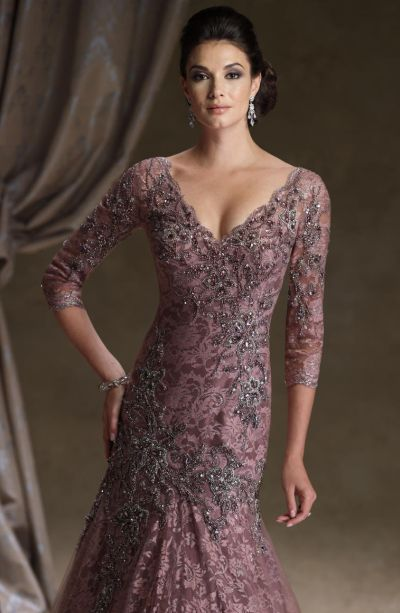 Ivonne D 113d06 Mermaid Lace Mother Of The Bride Dress