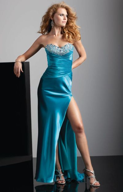 fa5888e1c9a Flaunt 93222 by Mori Lee Formal Dress with Ruching  French Novelty