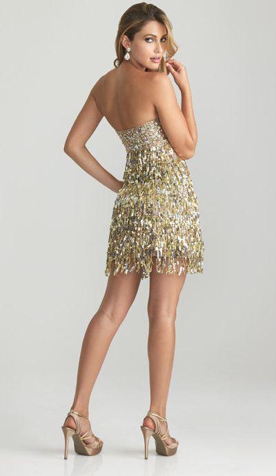 Fringe Cocktail Dresses for Women