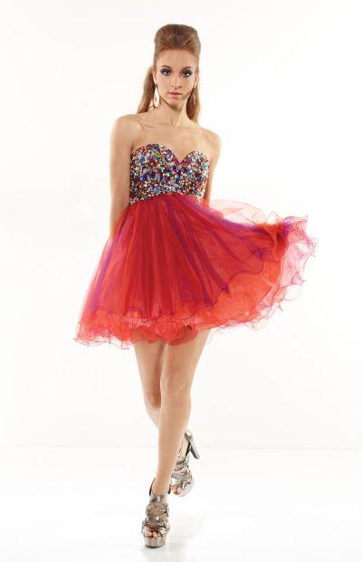 Orange Semi Formal Dresses