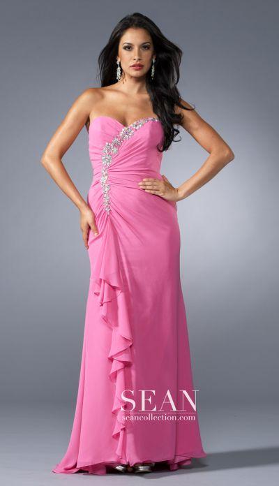 Georgette Evening Dress