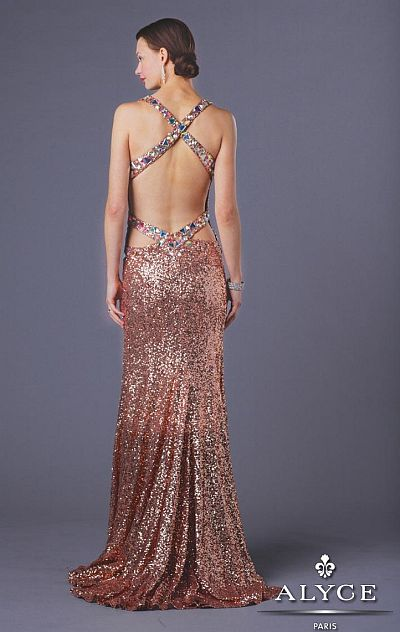 Copper Prom Gowns