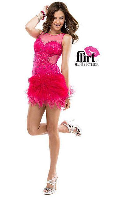 flirt dress p2861