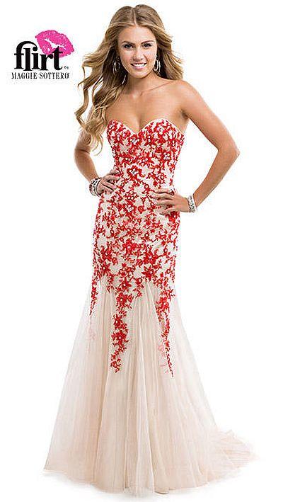 flirt prom dress p4881