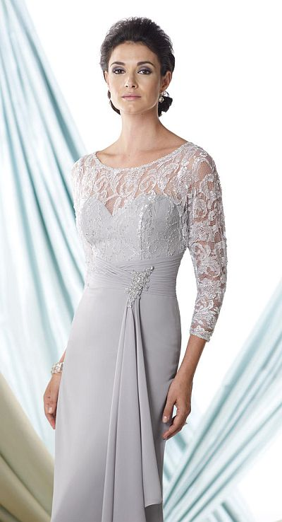 Montage 114920 Long Sleeve Mother Of The Bride Dress