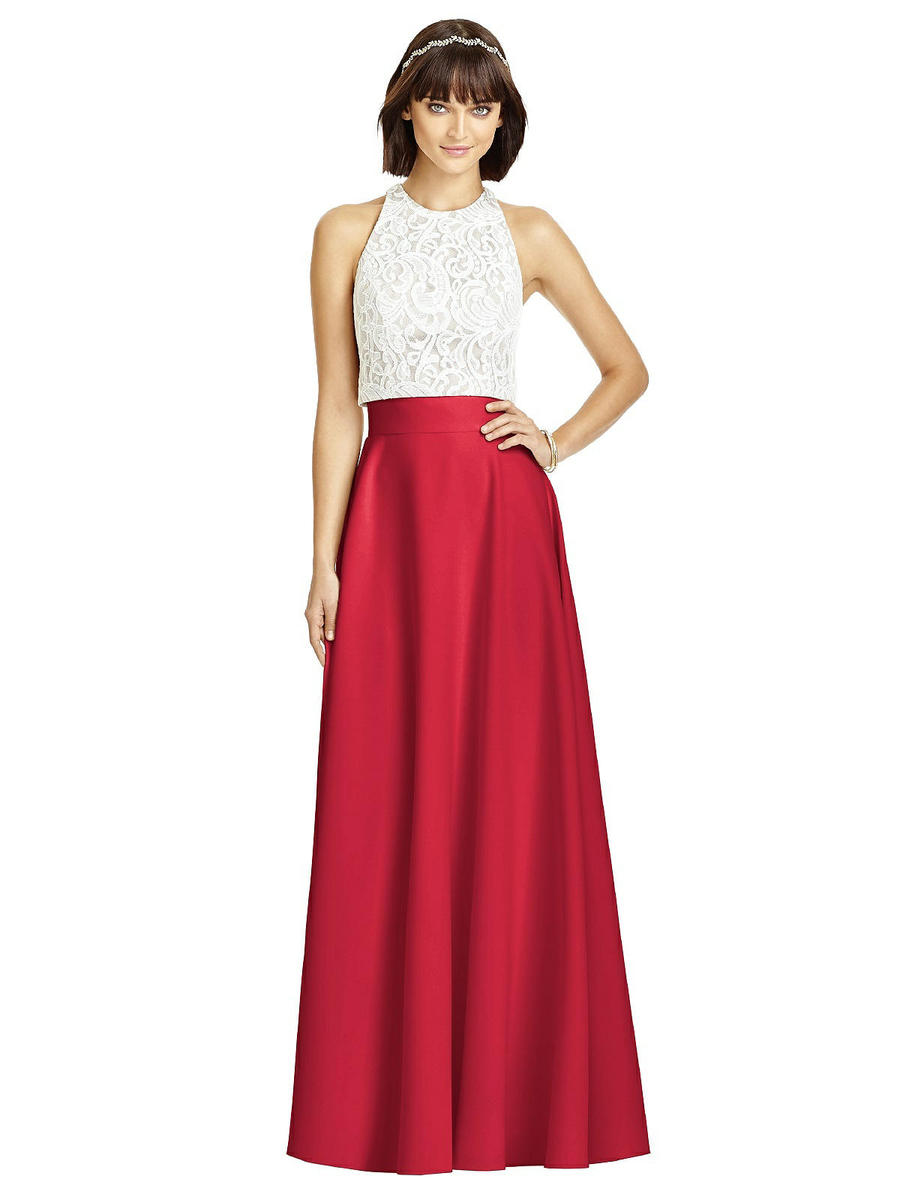 Dessy collection s2975 crepe separate bridesmaid skirt for Immediate resource wedding dresses