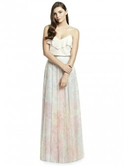 37d04be10c2 Dessy Collection S2977PRNT Separate Print Bridesmaid Skirt