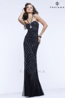 Faviana Glamour S7372 Keyhole Formal Dress image