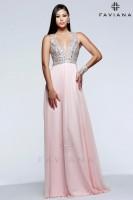 Faviana Glamour S7500 Chiffon Prom Gown image