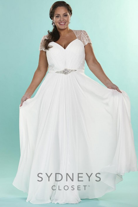 Sydneys Closet SC5073 Signature Plus Size Vintage Bridal Dress ...