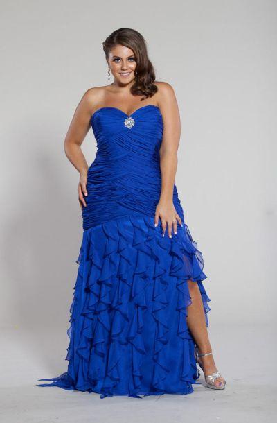 Sydneys Closet Sc7066 Plus Size Mermaid Dress French Novelty