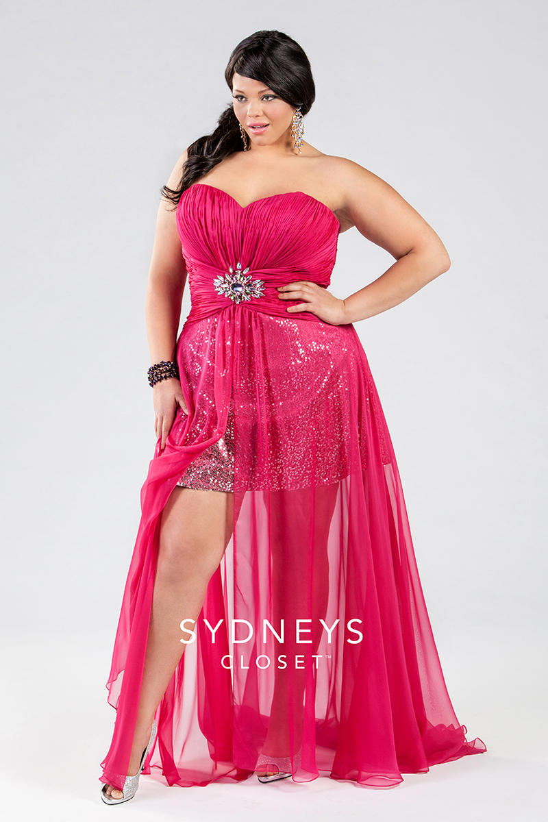 "Sydney's Closet ""My Dress Finder"" lets you browse by size, price, color, or occasion. If you're sick of being forced to hold back your fierceness on account of being plus size, Sydney's Closet is your first step to fashion liberation."