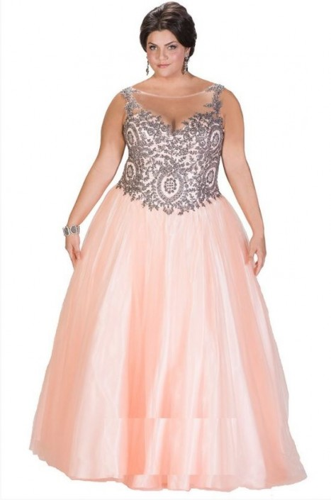 Sydneys Closet Sc7204 Plus Size Magical Prom Dress French Novelty