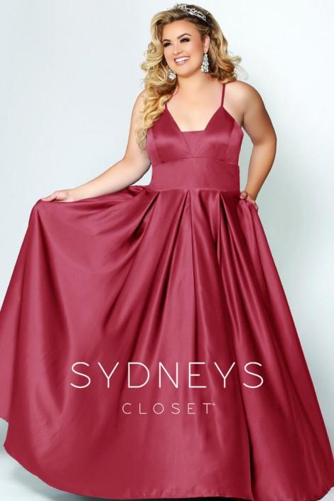 Sydneys Closet SC7270 Classic Beauty Plus Size Prom Dress