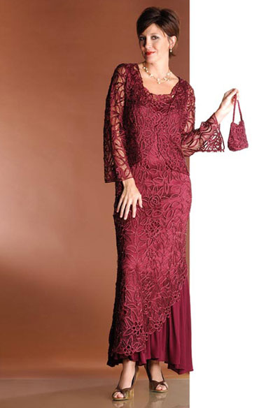 Soulmates 2 Piece Formal Dress C5109 French Novelty