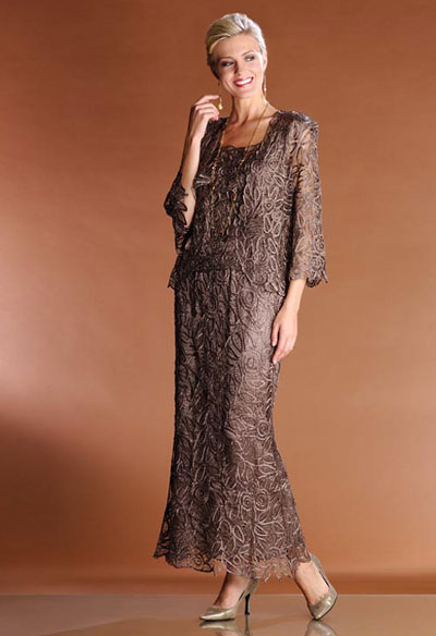 Soulmates 3 Piece Evening Dress C710 French Novelty