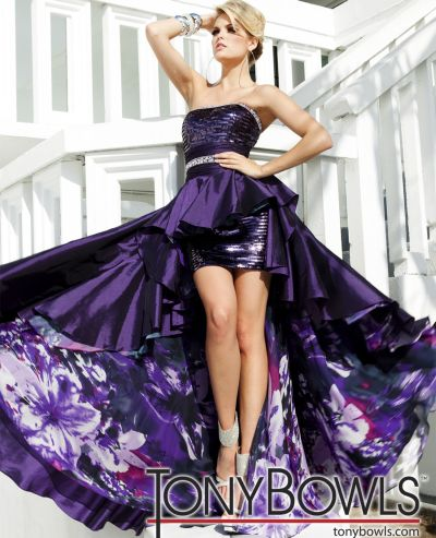 Tony Bowls High Low Dresses