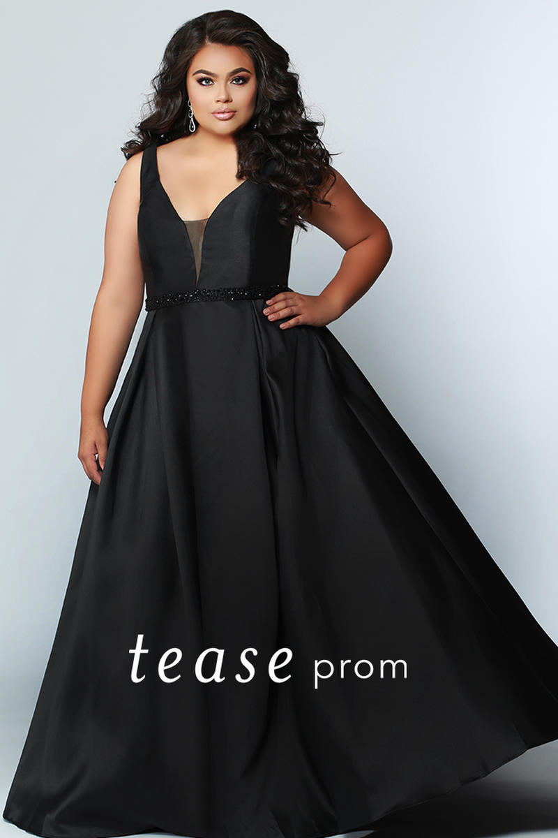 Sydneys Closet Te1912 Tease Plus Size Prom Dress French