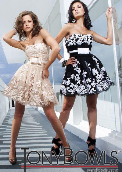 Tony Bowls Shorts Tulle Short Party Prom Dress TS11250: French Novelty