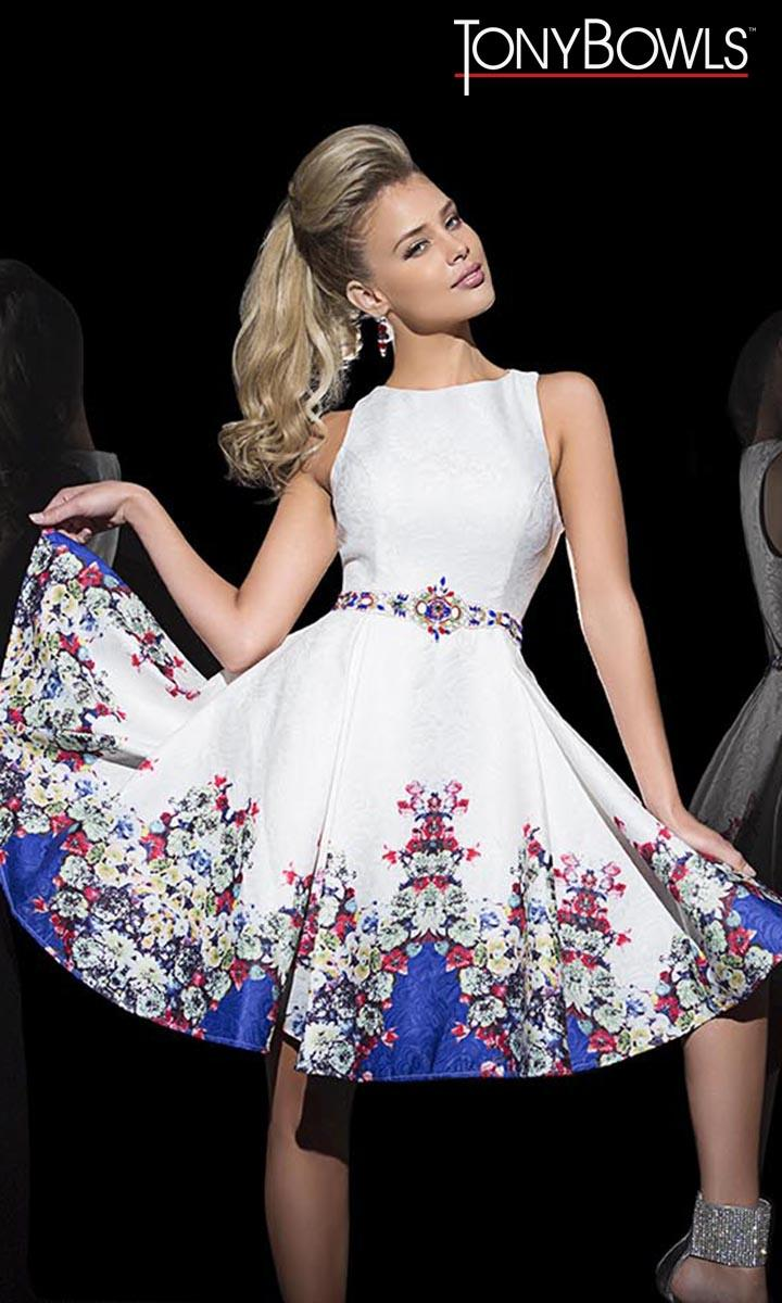 Cocktail dresses by tony bowls
