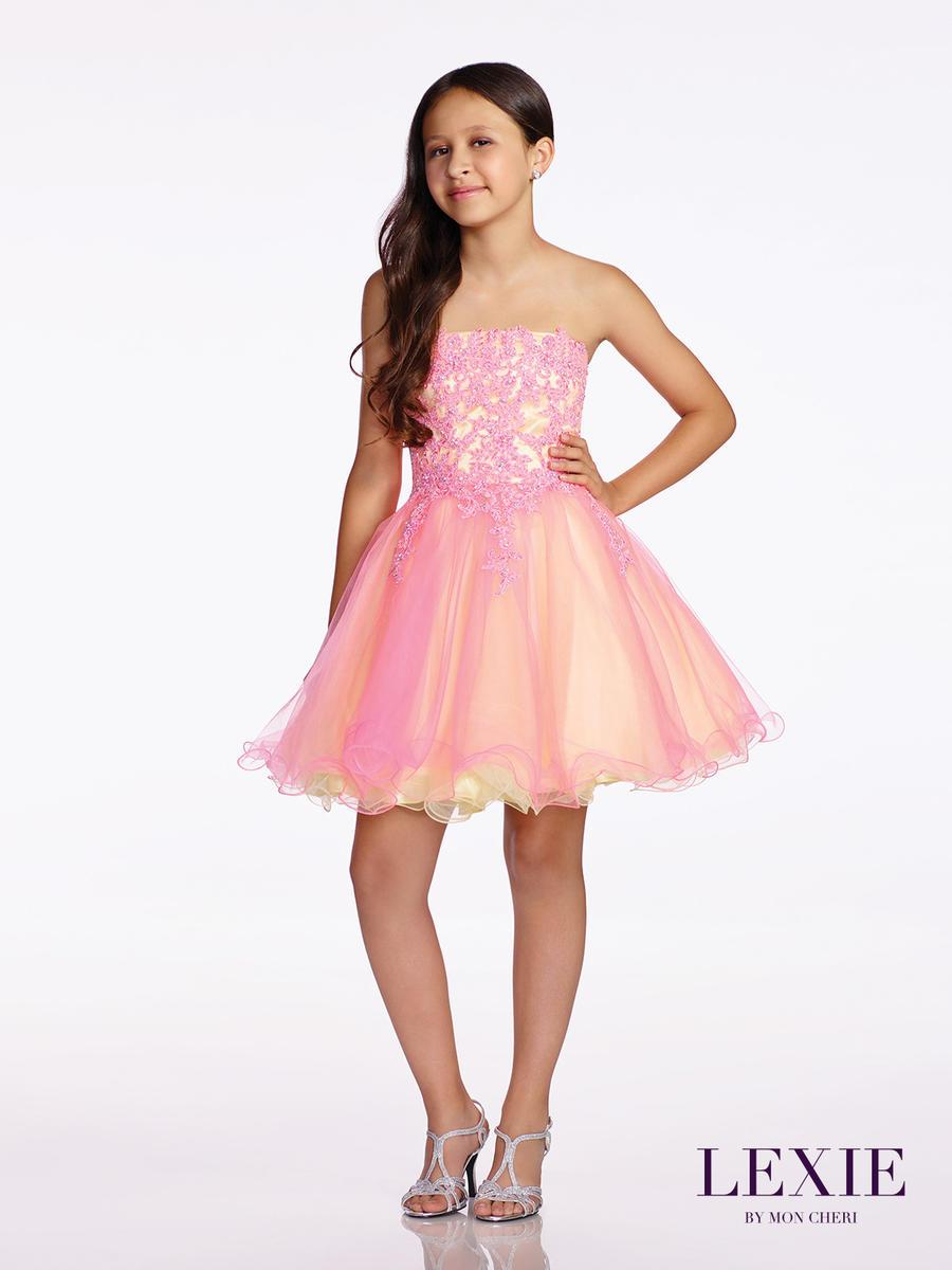 Lexie By Mon Cheri Tw11657 Tween Lace Formal Dress