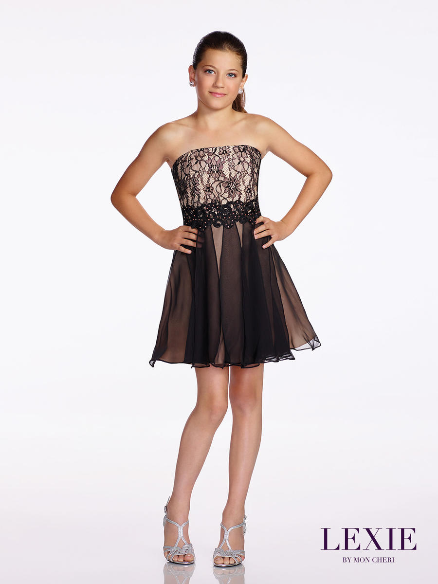 Lexie by mon cheri tw11659 tween formal dress french novelty for Wedding dresses for tweens