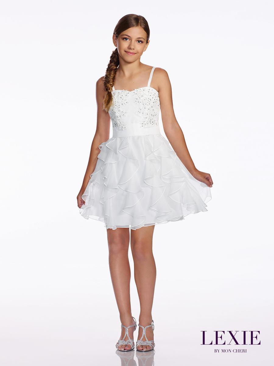 Lexie By Mon Cheri Tw11665 Tween Graduation Dress French