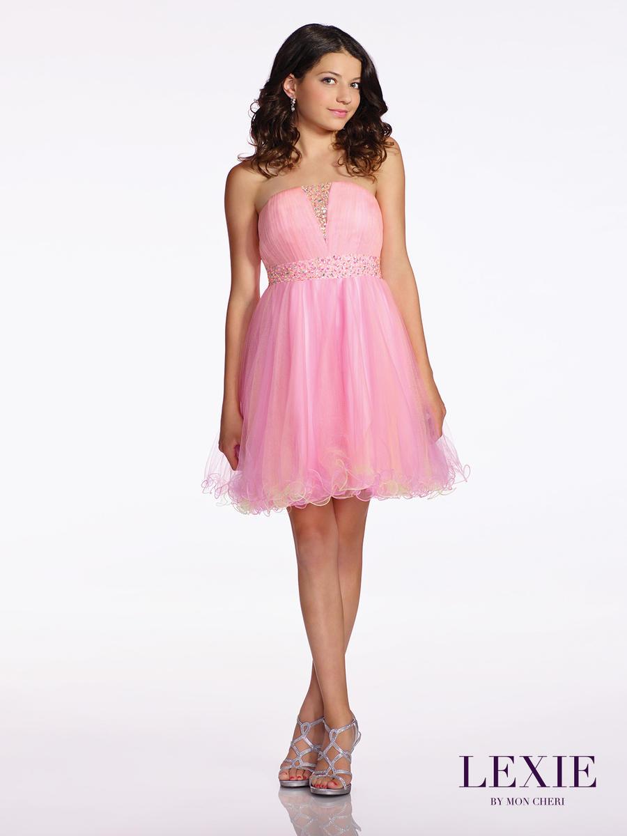 Lexie by mon cheri tw11666 bat mitzvah party dress for Wedding dresses for tweens