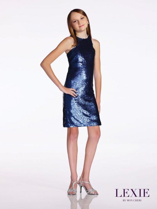 1c9e6333fa3 Lexie by Mon Cheri TW11674 Tween Sequin Dress  French Novelty