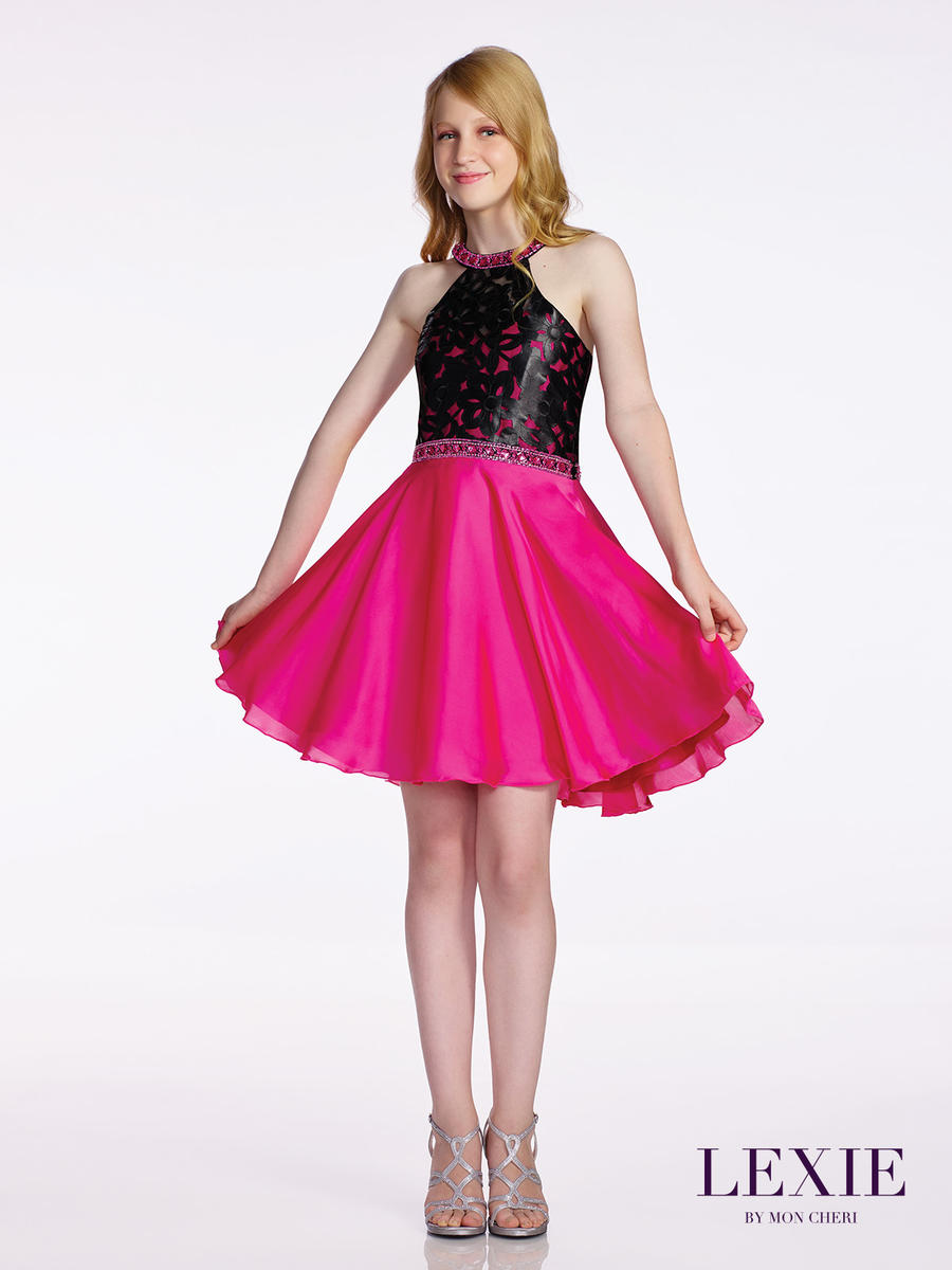 Lexie by mon cheri tw11675 tween formal dress french novelty for Wedding dresses for tweens