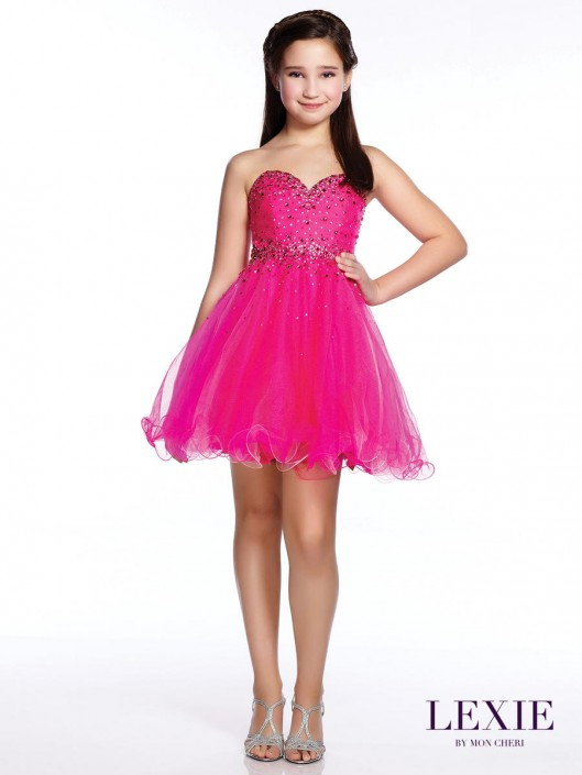 b7ddbcc16 Lexie by Mon Cheri TW21531 Teen Formal Dress: French Novelty