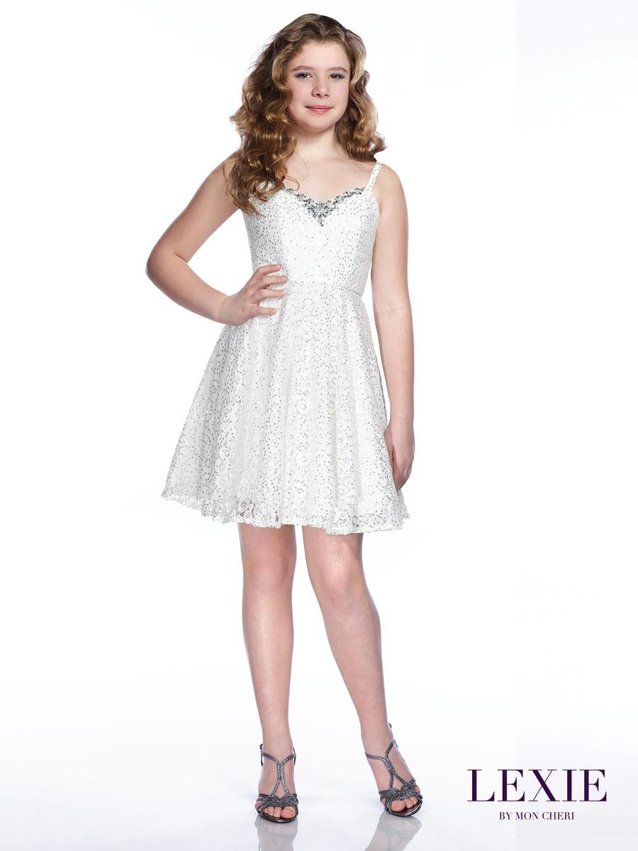 Lexie By Mon Cheri Tw21533 Tween Sequin Lace Dress