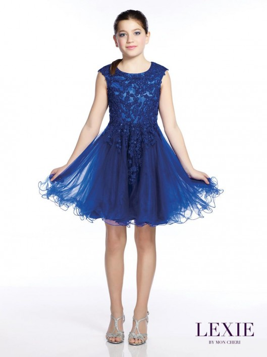f22bb9298 Lexie by Mon Cheri TW21535 Tween Party Dress: French Novelty