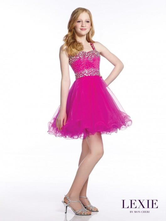 eb9ecd93fd1 Lexie by Mon Cheri TW21539 Tween Party Dress  French Novelty