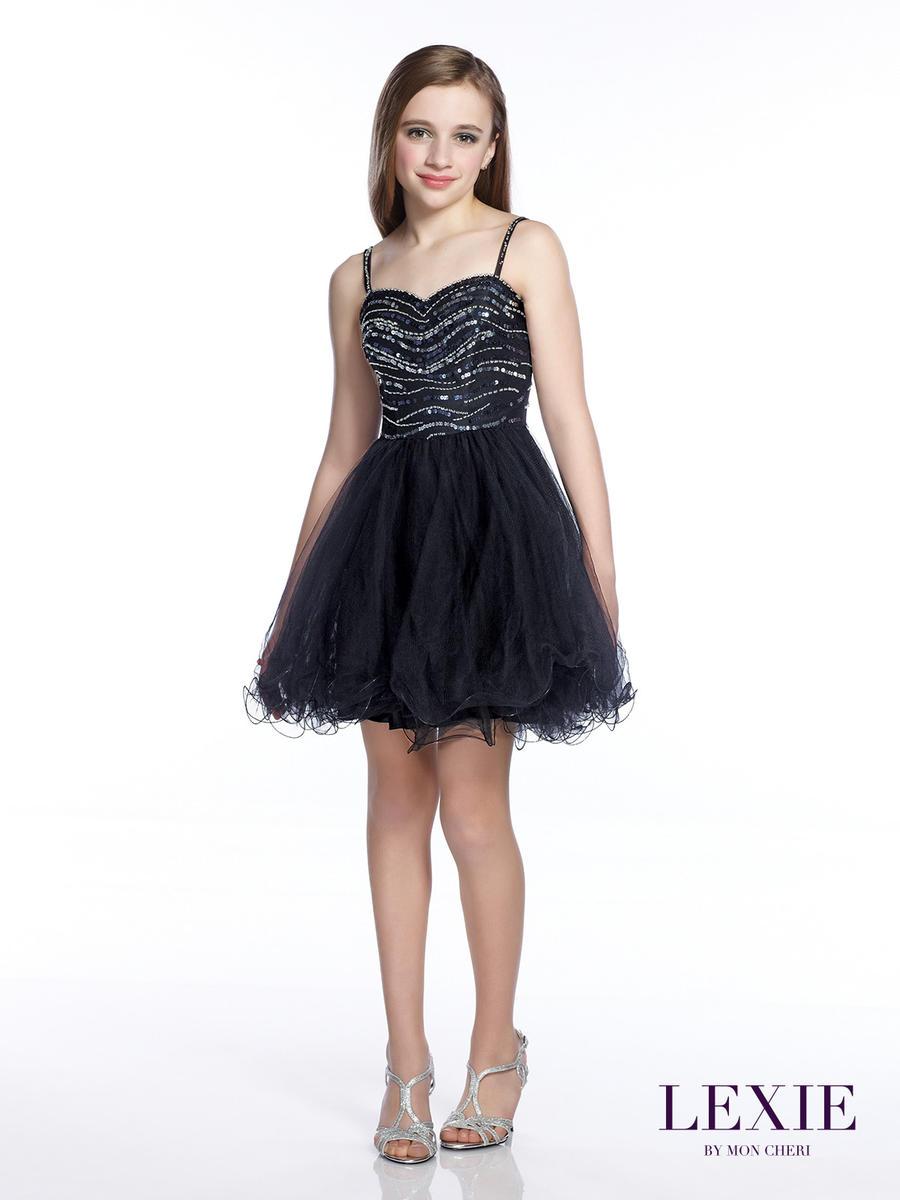 Lexie By Mon Cheri TW21544 Bat Mitzvah Party Dress