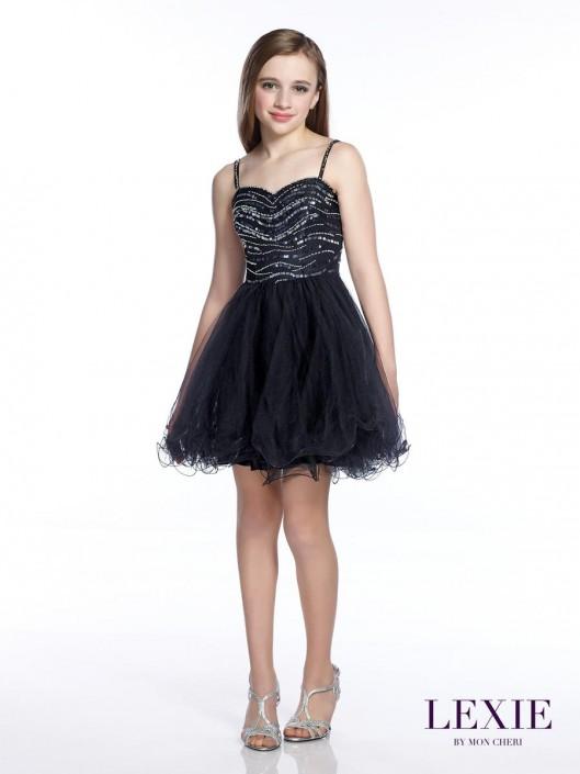 4bd2e2a446c Lexie by Mon Cheri TW21544 Bat Mitzvah Party Dress  French Novelty