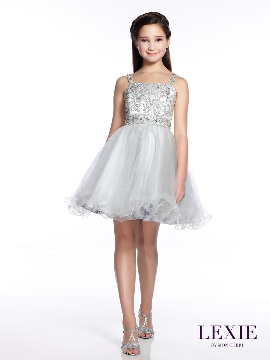 Lexie by Mon Cheri TW21545 Tween Formal Dress: French Novelty