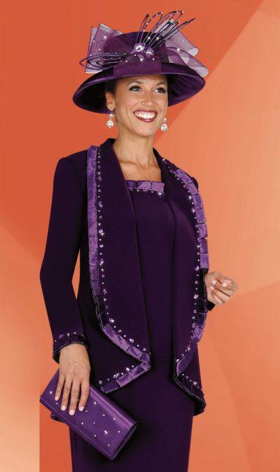 Plus Size Womens Church Suits BenMarc Fifth Sunday Suit 52514
