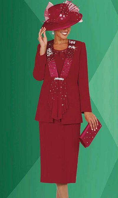 Plus Size Womens Church Suits Benmarc Fifth Sunday Suit 52518