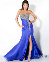 Jovani Long Dress with Tiered Bodice 102613 image