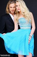 Sherri Hill 11028 Beaded Short Party Dress image